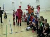 Я в роли  Деда Мороза на спортивном празднике в школе. г. Вантаа. Финляндия